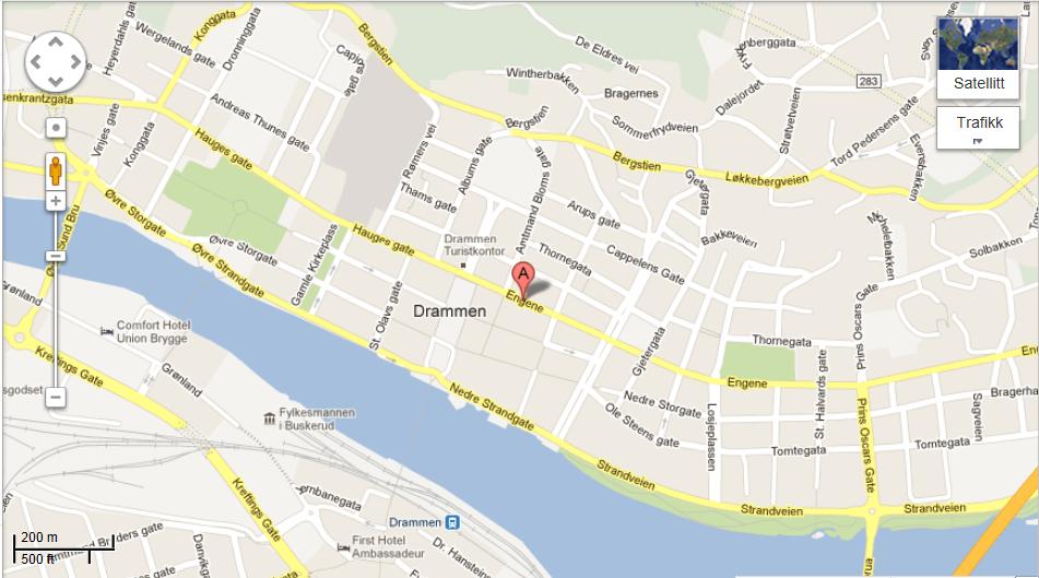 kart drammen Her finner du oss | dharmashop.no kart drammen